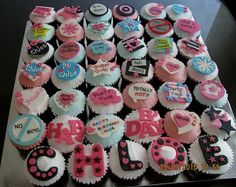 Girls Birthday CupCake