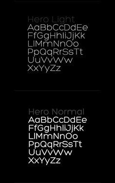 Hero Font