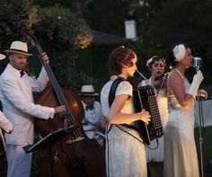 Hire a band to play outside for your wedding! } The Power Is In Your Hands: How To Cut Your Wedding's Energy Consumption