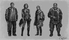 Character Line-up by Charlie-Bowater.deviantart.com on @deviantART