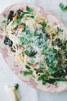Herb Pasta with Roasted Vegetables