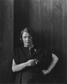 Writer Ayn Rand, New York City, 1964 _ Arnold Newman