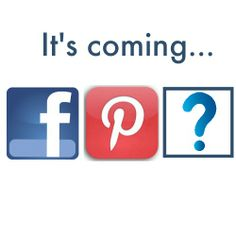 We're already on Facebook and Pinterest, something new is coming on Monday June 9!