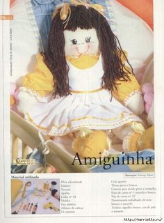 ANOTHER MAGAZINE WITH DOLLS AND THE PATTERN (E)