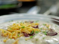 Fully Loaded Baked Potato Soup from FoodNetwork.com