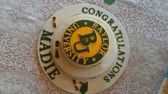 Another #Baylor graduation cake idea. #sicem