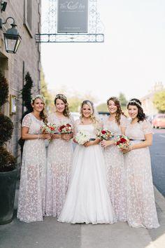 Beautiful boho style bridesmaids dress #bridestheshow