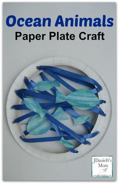 Ocean Animals-Paper Plate Craft