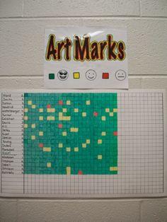 That Little Art Teacher: Art Marks Update