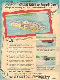 Casino Pier Ad from 1957