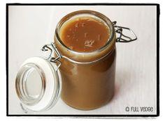 Coconut Milk, Maple, and Fleur de Sel Caramel