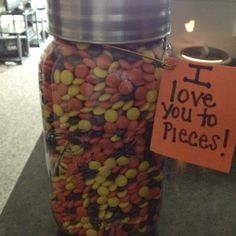 Cute idea that cost hardly anything. A gift for my husband!