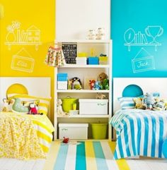 15 Headboard Design Ideas For A Shared Kids Bedroom | Kidsomania