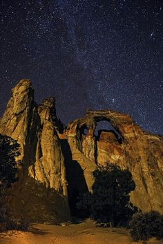 Milky Way over The Grand Staircase ~ Escalante National Monument, Utah