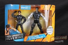 Cyclops & Colossus Wolverine Origins 2 pack  // Marvelicious Toys - The Marvel Universe Toy & Collectibles Podcast wolverin origin, marvelici toy, univers toy, misc toy