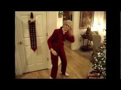 My 90-year-old Grandma Dances to LMFAO - Party Rock Anthem