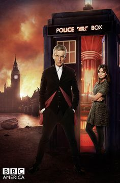 New image of The Doctor and Clara from Doctor Who season 8 premiere episode 'Deep Breath'. Watch the premiere this Saturday, August 23rd at 8/7c on BBC America!