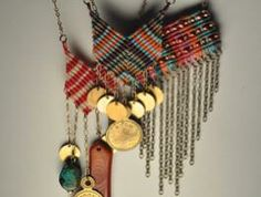 macrame jewelry from AMiRA