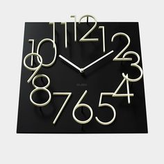 Glow In The Dark Wall Clock Kazunori Tashima, 2012