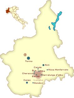 Piemonte, Italia: Langhe Wine Region