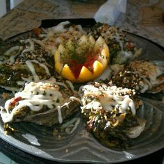 Oysters Rockefeller at Love's Seafood Restaurant in Savannah