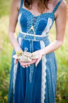 boho blue, bridesmaids, summer dress, boho inspir, bridesmaid dresses
