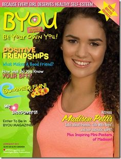 GIVEAWAY: BYOU Be Your Own You! Magazine (Value $23.70) 8/7