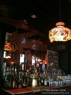 The Lancaster Dispensing Company • Insider Tip: A favorite among F students over the past three decades, downtown Lancaster's DipCo offers great food and is a key venue in the local music scene.