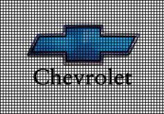 Classic Chevy Logo Pattern