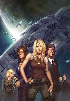 Battlestar Galactica - UdonCrew.deviantart.com