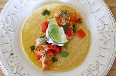 Crispy Salmon Tacos - The Fit Cook - Healthy Recipes - Skinny Recipes