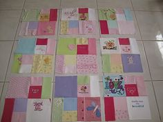 cloth memori, memory quilts, quilt idea, memori quilt