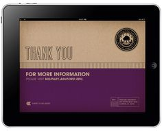 iPad App I worked on with Josh Jacobs, Ryan Woods and Jesse Claverly.