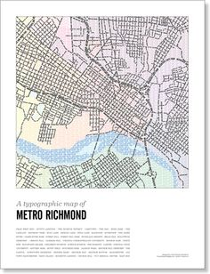 a really cool map of richmond