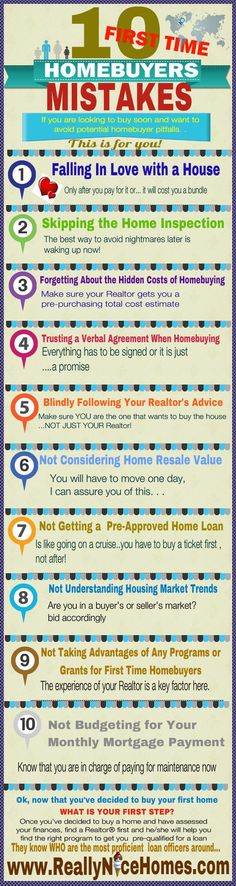 10 HUGE FIRST-TIME HOMEBUYER MISTAKES TO AVOID