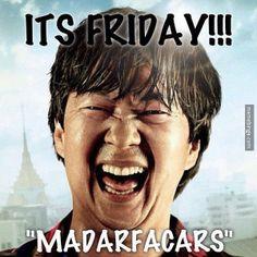 Chow loves Fridays