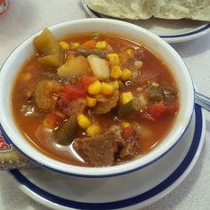Bob Evans Copycat Recipes: Hearty Beef Vegetable Soup