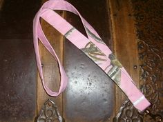 Neck Lanyard-Pink Real Tree. $5.50, via Etsy. need this for the fair!!!