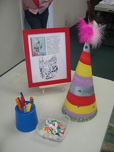 cute project for the kids...decorate a hat.