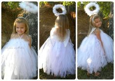 Angel tutu costume