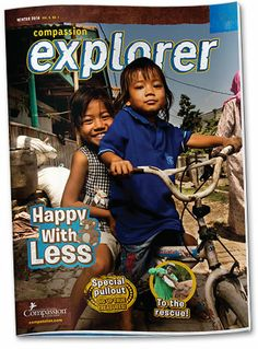 Compassion Explorer Magazine is available for free to Compassion sponsors and donors. Click here to find out more about receiving this magazine for kids!