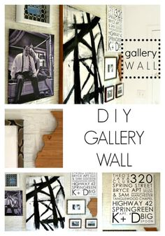 Create a meaningful gallery wall with these tips and DIY ideas via Bliss at Home
