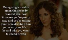 For all the single and strong women