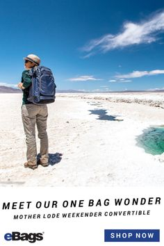 Meet our one bag wonder