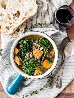 Winter Squash, Kale