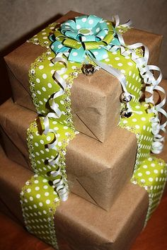 <3 Wrapping presents for my loved ones!