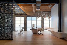 Giant Pixel office, by Studio O+A // great workspace, ᔥ Design-Milk.com