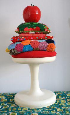 textile cakes