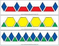 Pattern blocks.