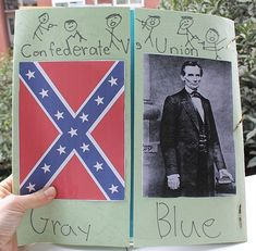 Civil War Lapbook plus Notebooking Pages notebook